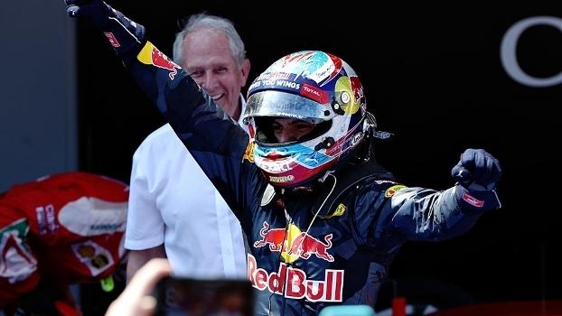 Max Verstappen colocou Red Bull no pódio no GP da Espanha, em Barcelona
