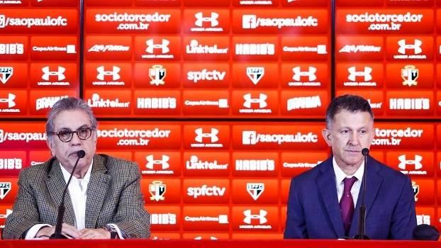 São Paulo contratou Juan Carlos Osorio no fim de maio