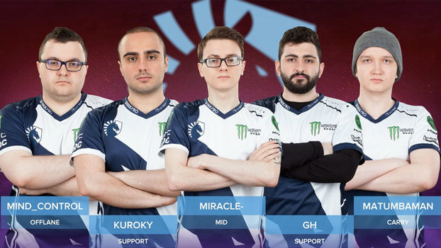 Team Liquid terminou em 1º lugar no Grupo A do International 7