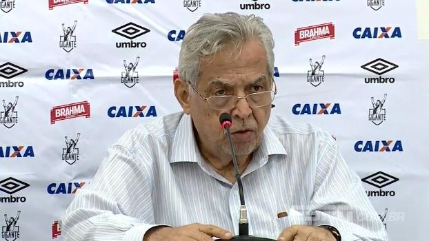 Eurico anuncia Milton Mendes como novo técnico do Vasco