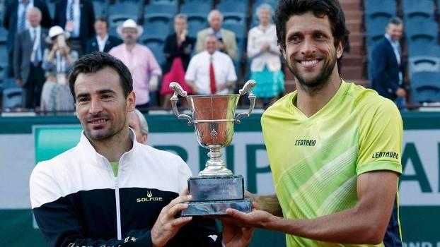 Marcelo Melo e Ivan Dodig, campeões em duplas de Roland Garros em 2015