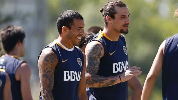 Tevez e Osvaldo passaram por grandes da Europa antes de retornar à Argentina