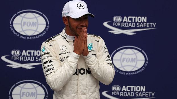 Hamilton comanda dobradinha da Mercedes no 1º treino do GP da Itália