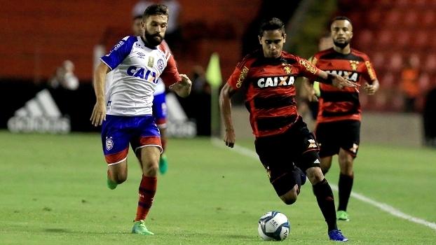 Allione e Everton Felipe duelaram no primeiro jogo da final do Nordestão