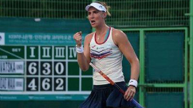 Bia Haddad vence holandesa e enfrenta Ostapenko na final em Seul