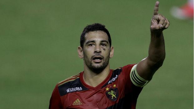 Diego Souza esta fora de decisão do Sport na Copa Sul-Americana