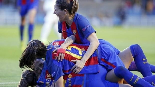 Barcelona fez história ao se classificar à semi da Champions feminina