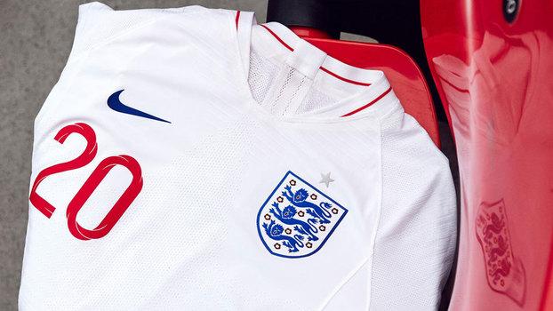 261956af5c Veja os uniformes da Inglaterra para a Copa do Mundo de 2018