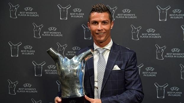 Cristiano Ronaldo foi eleito o melhor jogador da temporada europeia