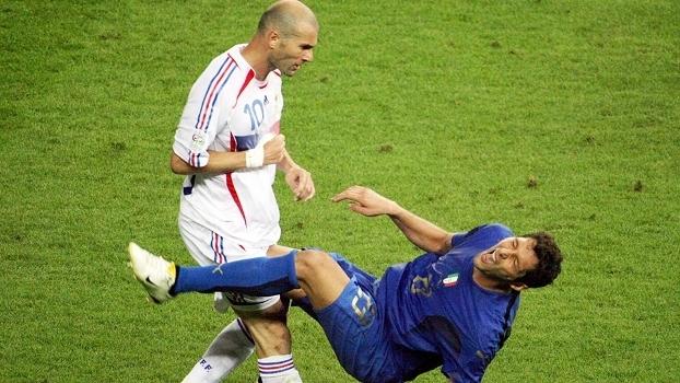 Zidane Cabeçada Materazzi França Italia Final Copa do Mundo 2006 09/07/2006