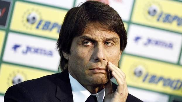 Antonio Conte Coletiva Seleção Itália 27/03/2015