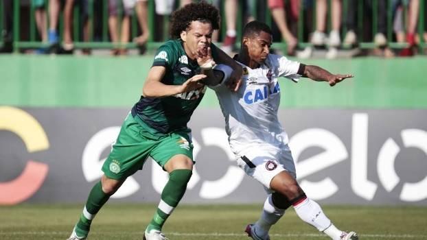 Chapecoense e Atléico-PR não fazem boa campanha no Campeonato Brasioeiro