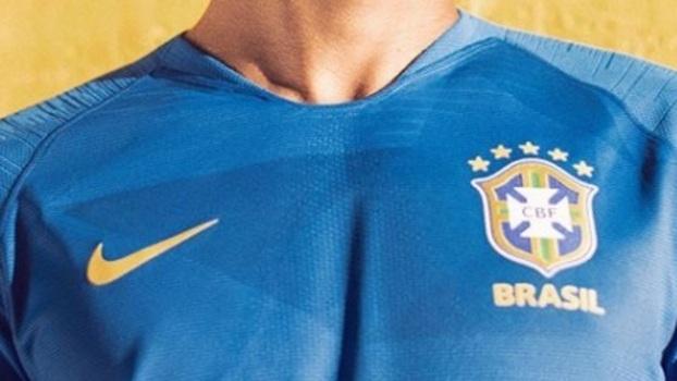 ba7f1b8f44 CBF divulga nova camisa da seleção brasileira para Copa do Mundo ...