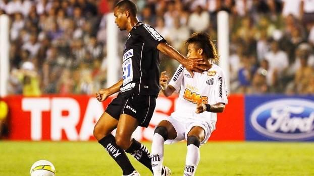 Junior Lopes Bragantino Neymar Santos Campeonato Paulista 25/03/2012