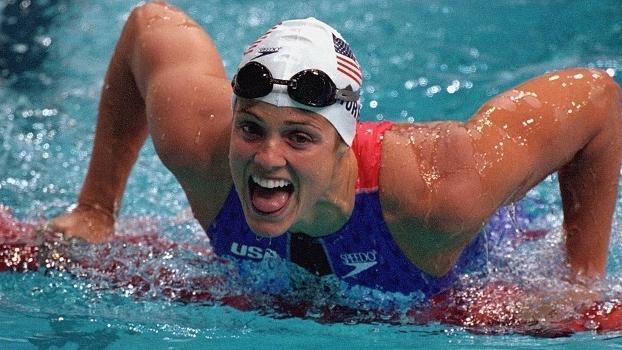 Dara Torres nos Jogos Olímpicos de Sydney em 2000: 12 medalhas em cinco edições