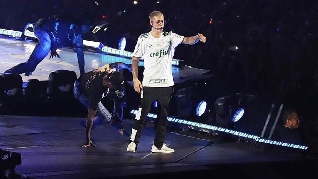 Justin Bieber se apresentou no Allianz, mas barulho fez prefeitura ameaçar fechar o estádio
