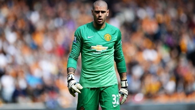 Victor Valdes Manchester United Hull City Campeonato Ingles 24/05/2015