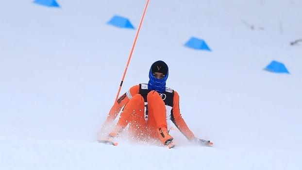 Adrian Solano, de 22 anos, disputou o Campeonato Mundial de Esquí Nórdico de Lahti, na Finlândia