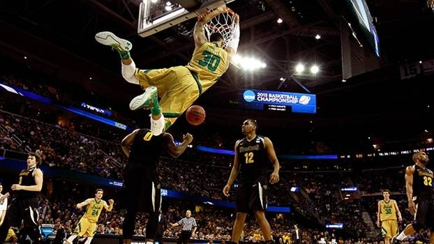 Lance de Notre Dame x Wichita State pelo March Madness