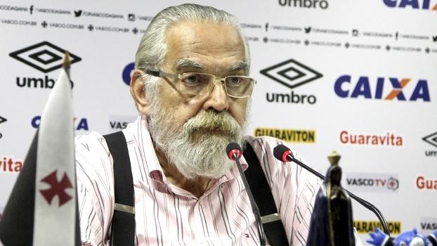 Eurico Miranda concede entrevista coletiva no Vasco: rebaixamento e críticas ao antecessor