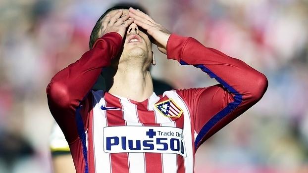 Griezmann Lamenta Atletico de Madri Sevilla Campeonato Espanhol 24/01/2016