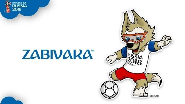 Zabivaka Lobo Mascote Copa do Mundo 2018 Russia