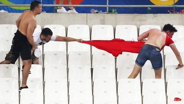 Hooligans Russia Inglaterra Euro-2016 Briga 11/06/2017