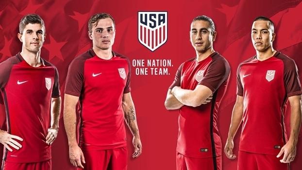 ce4f68c4bdca56 Estados Unidos inovam e lançam camisa três para a seleção; estreia ...
