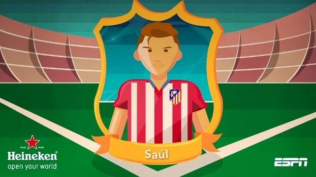 Cara do jogo - Saúl