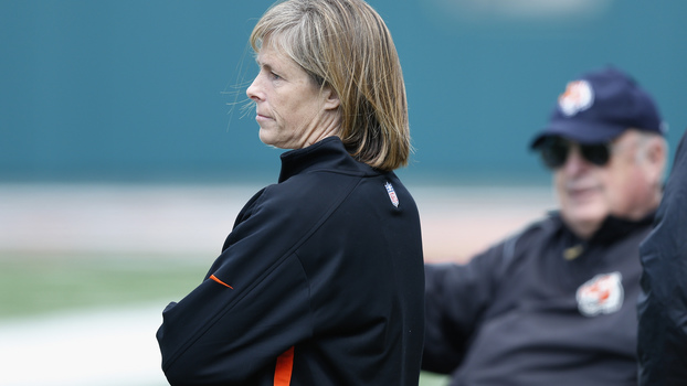 Katie Blackburn é a vice presidente do Cincinnati Bengals