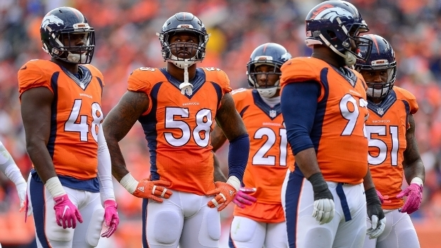 Von Miller e a defesa dos Broncos irão encarar o Oakland Raiders no Sunday  Night Football 11b6eccfbc71b