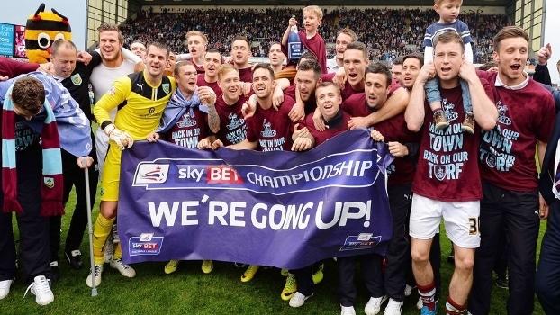 Burnley já garantiu o retorno à Premier League na próxima temporada
