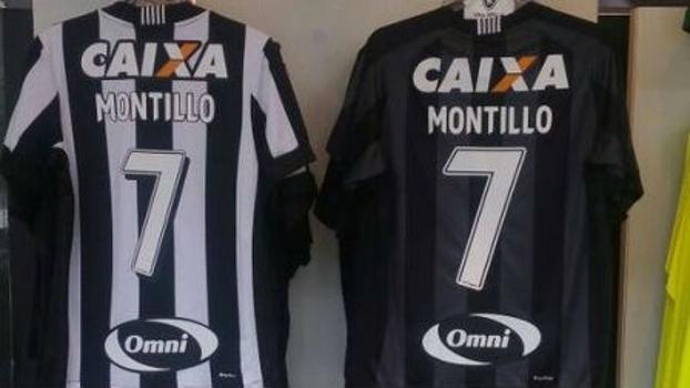 24ca56db6357d Montillo faz esgotar camisas número 7 na loja do Botafogo - ESPN