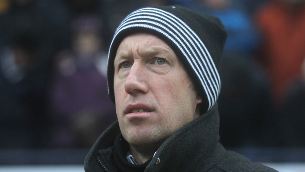 Graham Potter, agora técnico do Swansea