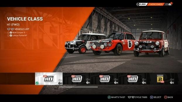 Para os nostálgicos e entusiastas, há o modo Historic Rally, com carros que fizeram a história da categoria.