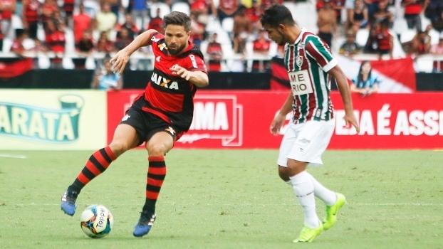 Diego Flamengo Fluminense Final Taça Guanabara 05/03/2017