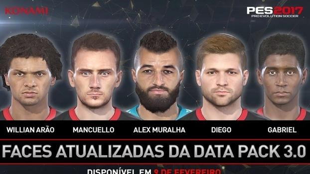 O Data Pack 3.0 fará a atualização de mais de 100 jogadores, incluindo atletas do Flamengo.