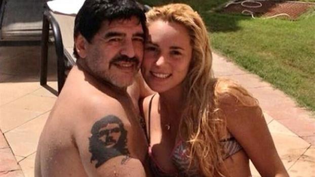 Emissora de TV divulga imagens de suposta agressão de Maradona a  ex-namorada - ESPN