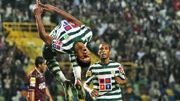 Nani Comemora Gol Sporting Leiria Campeonato Portugues 02/10/2006