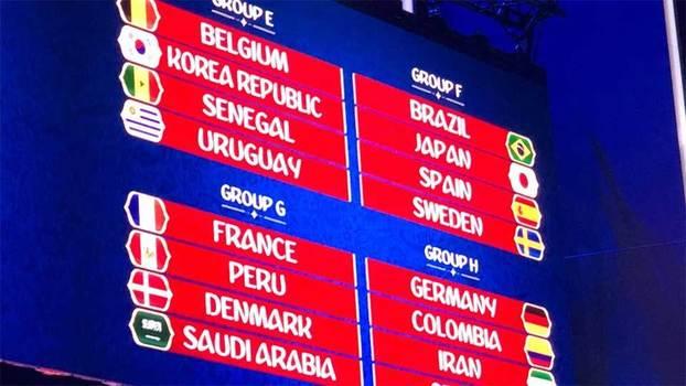 Puyol mostra simulação de sorteio com Brasil no  grupo da morte  com ... 20fb8567044bd