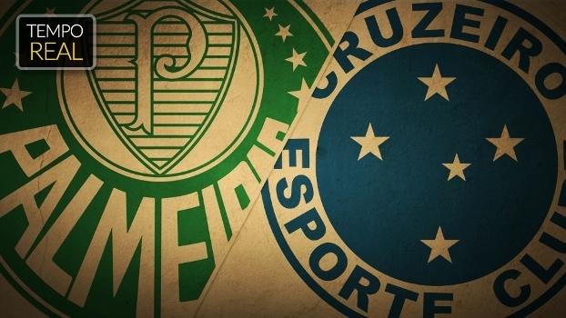 TEMPO REAL: o duelo de Palestras, Palmeiras x Cruzeiro