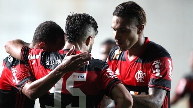 Diego e Guerrero estão entre jogadores que são 100% do Flamengo