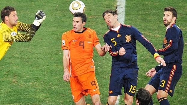 Sergio Ramos Pique Espanha Holanda Final Copa-2010 11 07 2010 f08baef557e4f