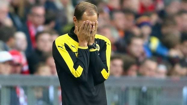 Técnico Thomas Tuchel lamenta derrota do Dortmund para o Bayern