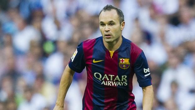 Iniesta Barcelona 25/10/2014