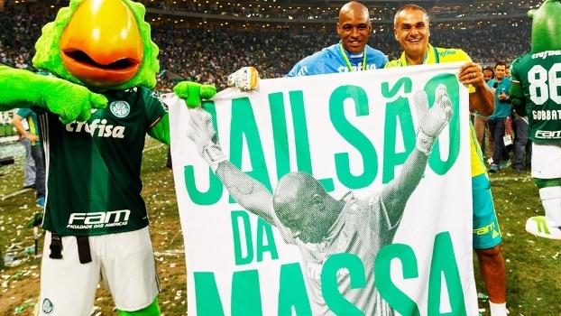 Jailson virou ídolo da torcida do Palmeiras no Brasileirão 2016