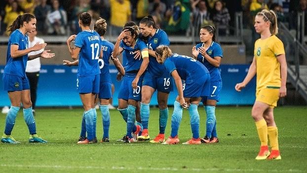 Marta Lamenta Pênalti Perdido Brasil Austrália Futebol Feminino Olimpíada  13 08 2016 03d0838895283