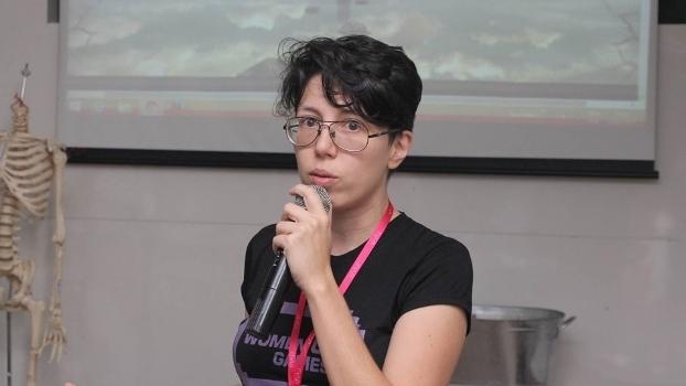 Ariane, manager da Victory Pro Team e idealizadora da Women Up Games