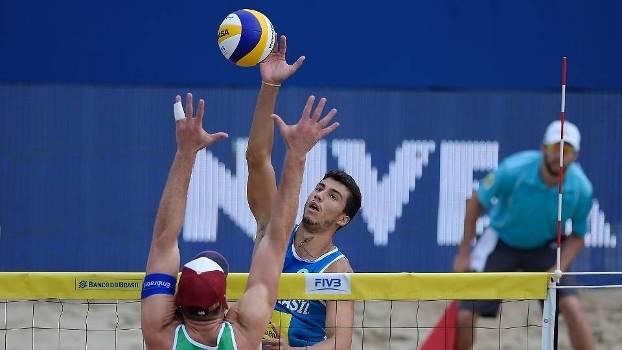 Duplas brasileiras disputaram a medalha de bronze no Rio Open