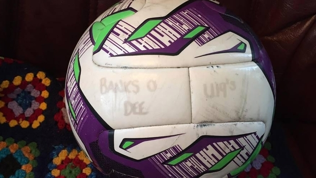 A bola perdida do Banks o'Dee FC